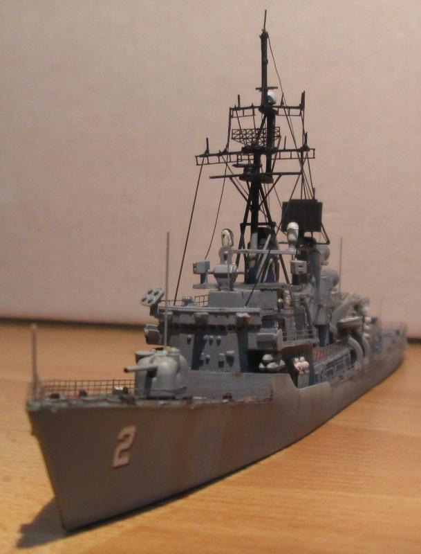 USS Charles F. Adams 1/700 820787IMG0581