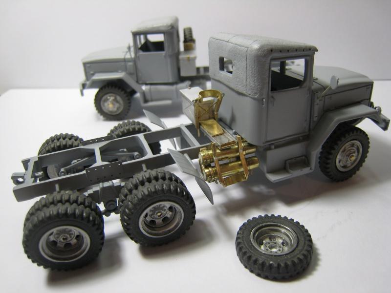 REO M59 Dump Truck scratch sur base Solido au 1/50 824627IMG8569