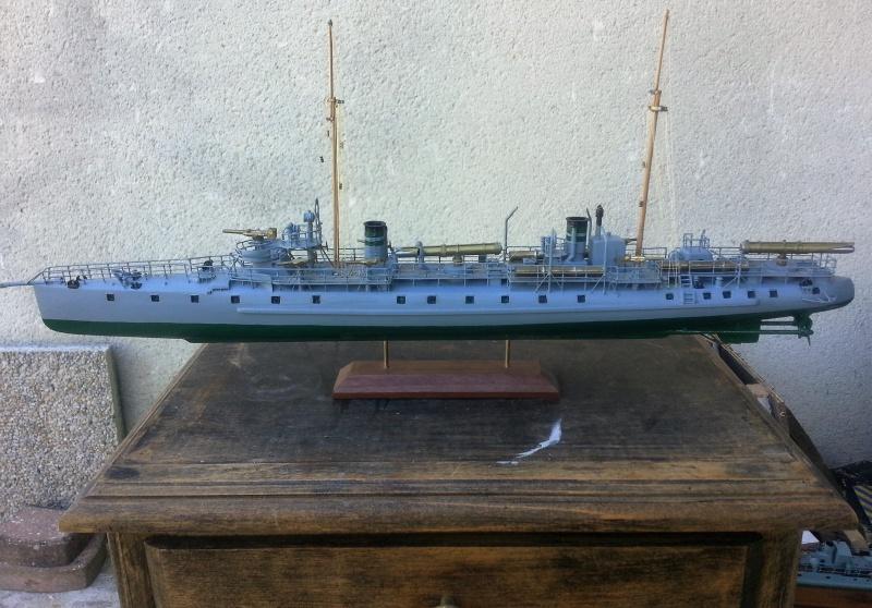 le contre torpilleur la Bombarde de 1903 et le torpilleur numéroté 340 de 1904 82679120160907135317
