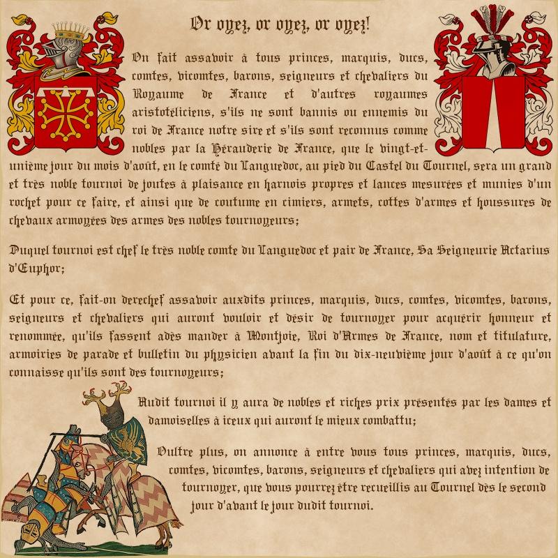 De la Hérauderie Royale - Page 4 827137Annoncejoutesgargote