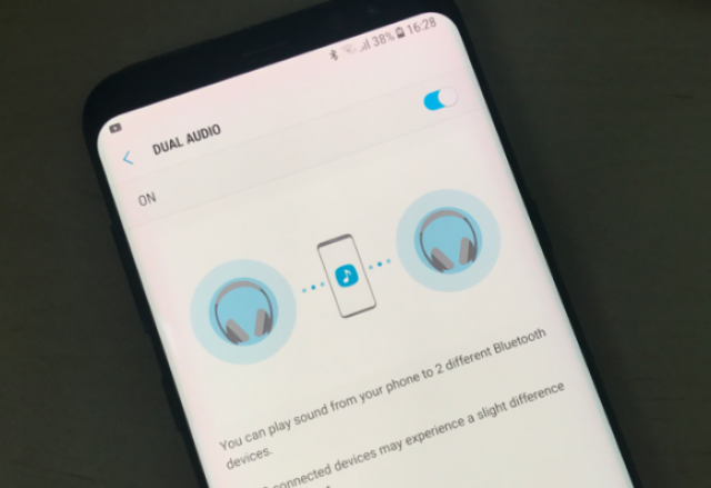 [Astuce] Comment activer Bluetooth Dual Audio Galaxy S8/S8+ ? 827264blu1