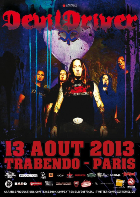 13.08 - Devildriver + Deep In Hate @ Paris 828223DEVILDRIVER