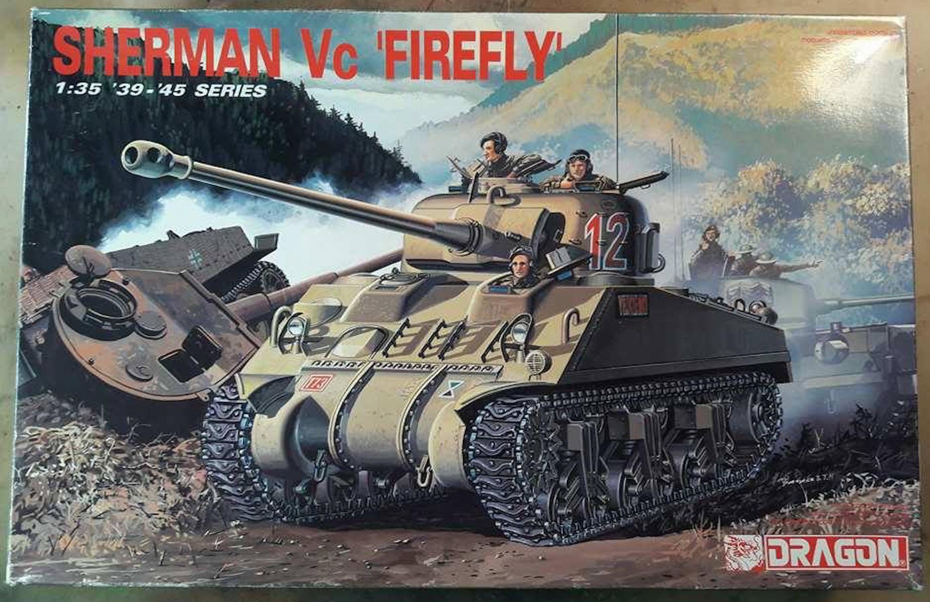 Sherman Vc Firefly - 1/35ème - kit Dragon #6031 Sherman Vc 'Firefly' 831322FireflyVcDragon