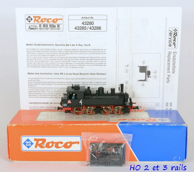 Les locomotives à vapeur articulées 833492Roco43285malletn4SdzuckerindustrielleR