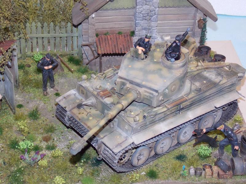 TIGRE S33  avant la bataille de Koursk juillet 43 (Dragon 1/35 dio DIODUMP) - Page 9 836044DSCN4762