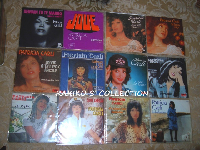Rakiko  s' music collection  45 rpm & 33 rpm and more 836488CarliFrenchSP