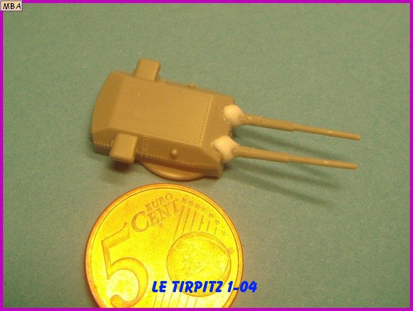 Le TIRPITZ au 1/700ème - DRAGON 836770Tirpitz04
