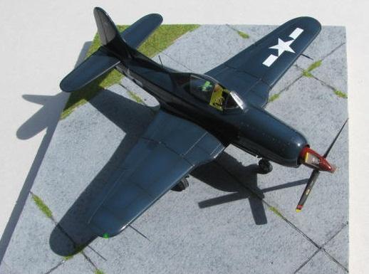 Montage terminé: Ryan XF2R-1 Czech Model 1/48 839249IMG1398