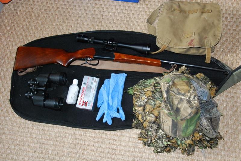 Equipement de base pour le tir d'été du renard 841416DSC0200