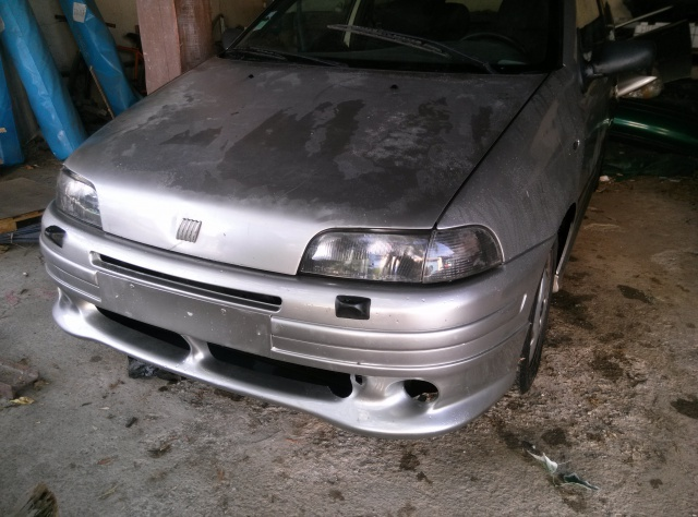 Punto Mk1 GT turbo Abarth (phase 3) Restauration by Roolette' 84239377421020130803181329
