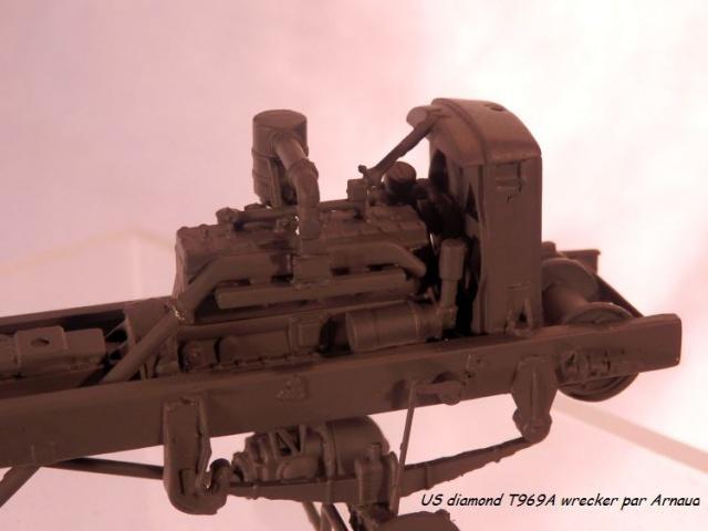 US Diamond T969A wrecker (Mirror Models 1/35) 842855P1140013
