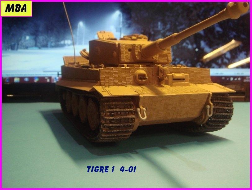 Char Tigre 1 au 1/35ème Dragon 842889Tigre401