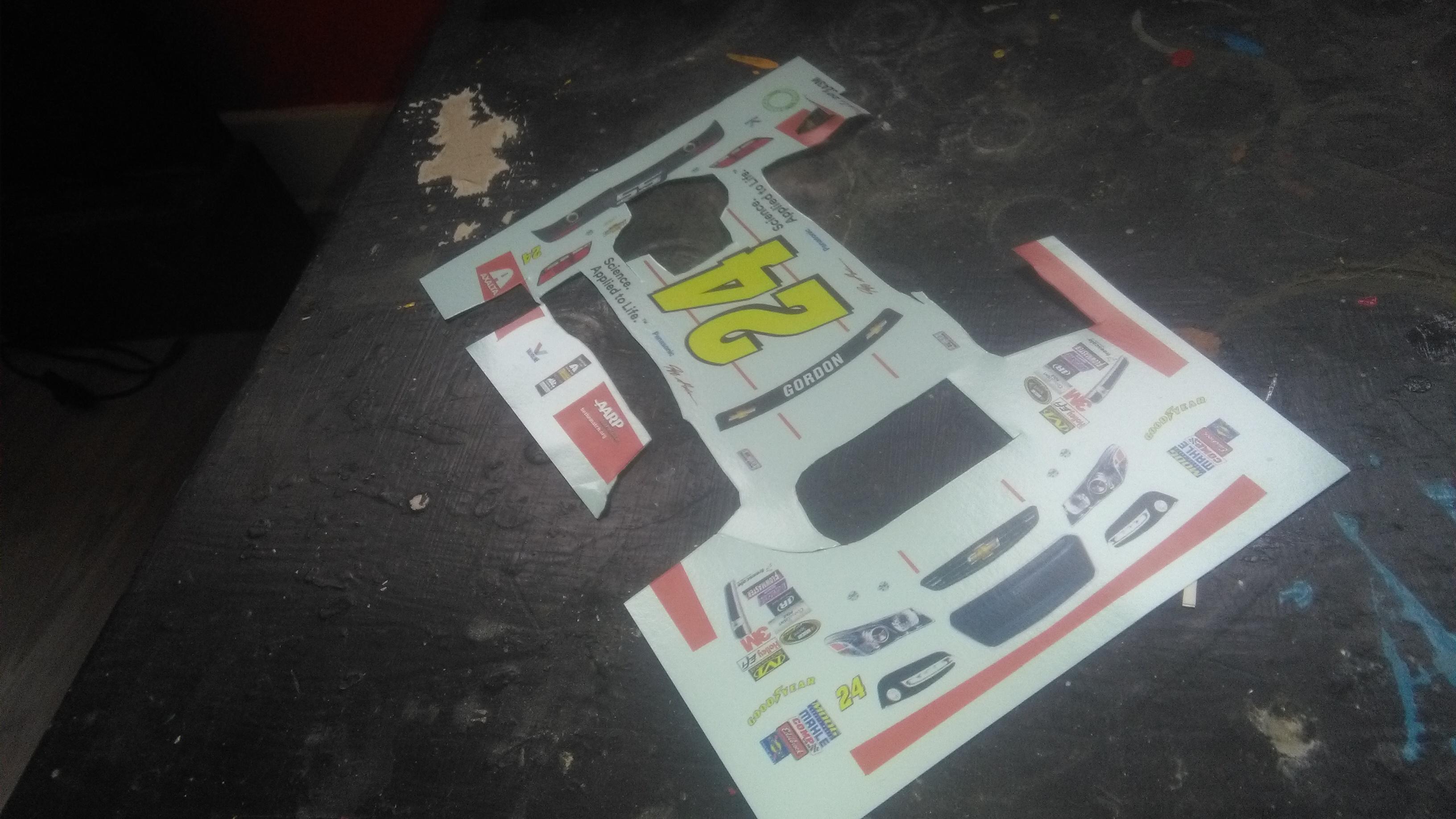 Chevrolet SS 2015 #24 Jeff Gordon 3M 843448IMG20170320152250