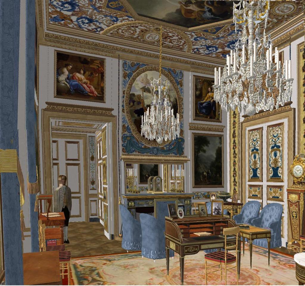 Reconstitution virtuelle du Palais des Tuileries, états Premier Empire et Second Empire 846382cabinetvueensembledepuissalonvert