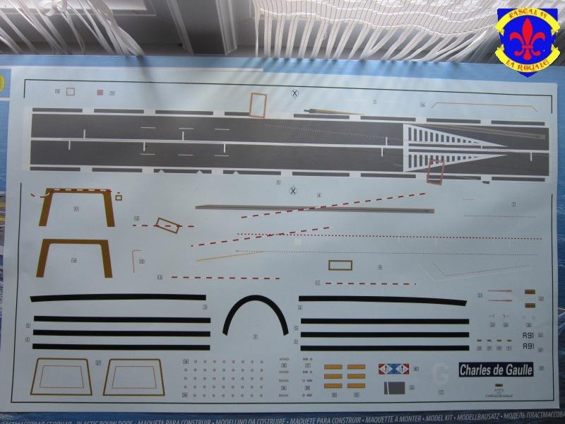 Porte avions Charles De Gaulle au 1/400 d'Heller 846476IMG25171