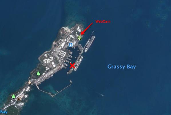 Cyclone GONZALO sur les îles du Nord des Antilles 847093GoogleEarth