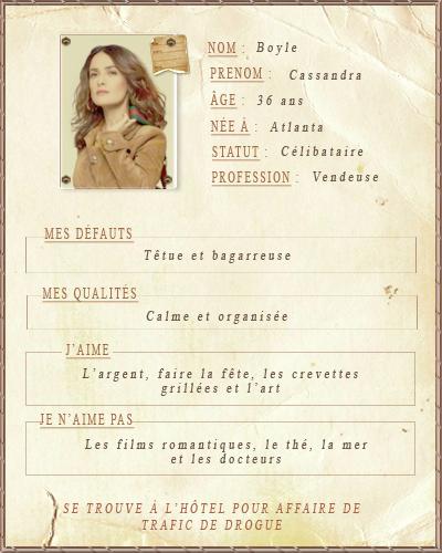 Les personnages 847216cassandra