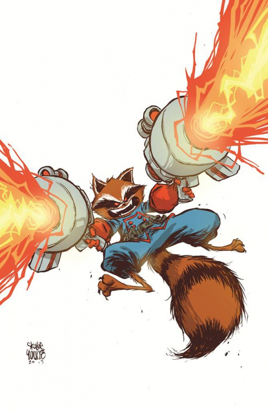 [Comics] Skottie Young, un dessineux que j'adore! 848778gotG7youngvar