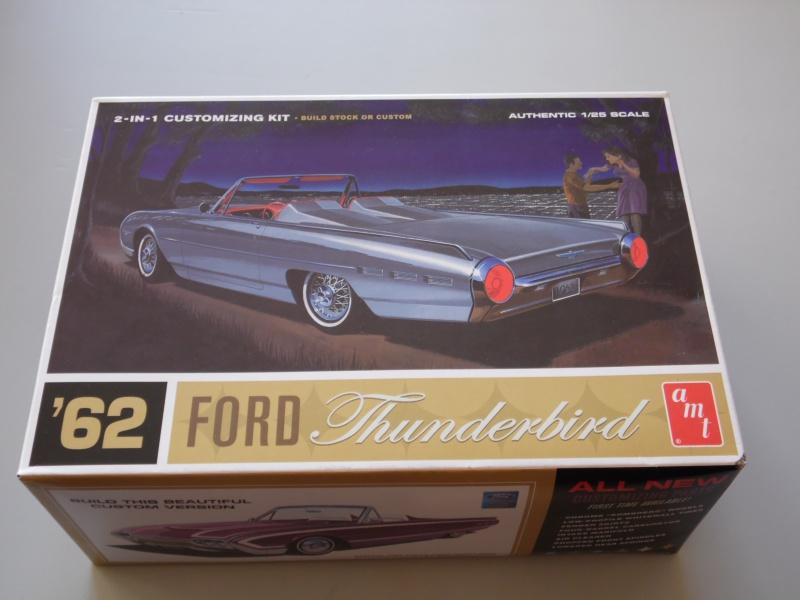 Ford Thunderbird 1962 AMT. 849524SAM3025
