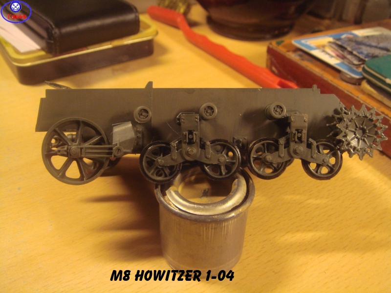 M8 US Howitzer  au 1/35 par l'ancien 849991m8103