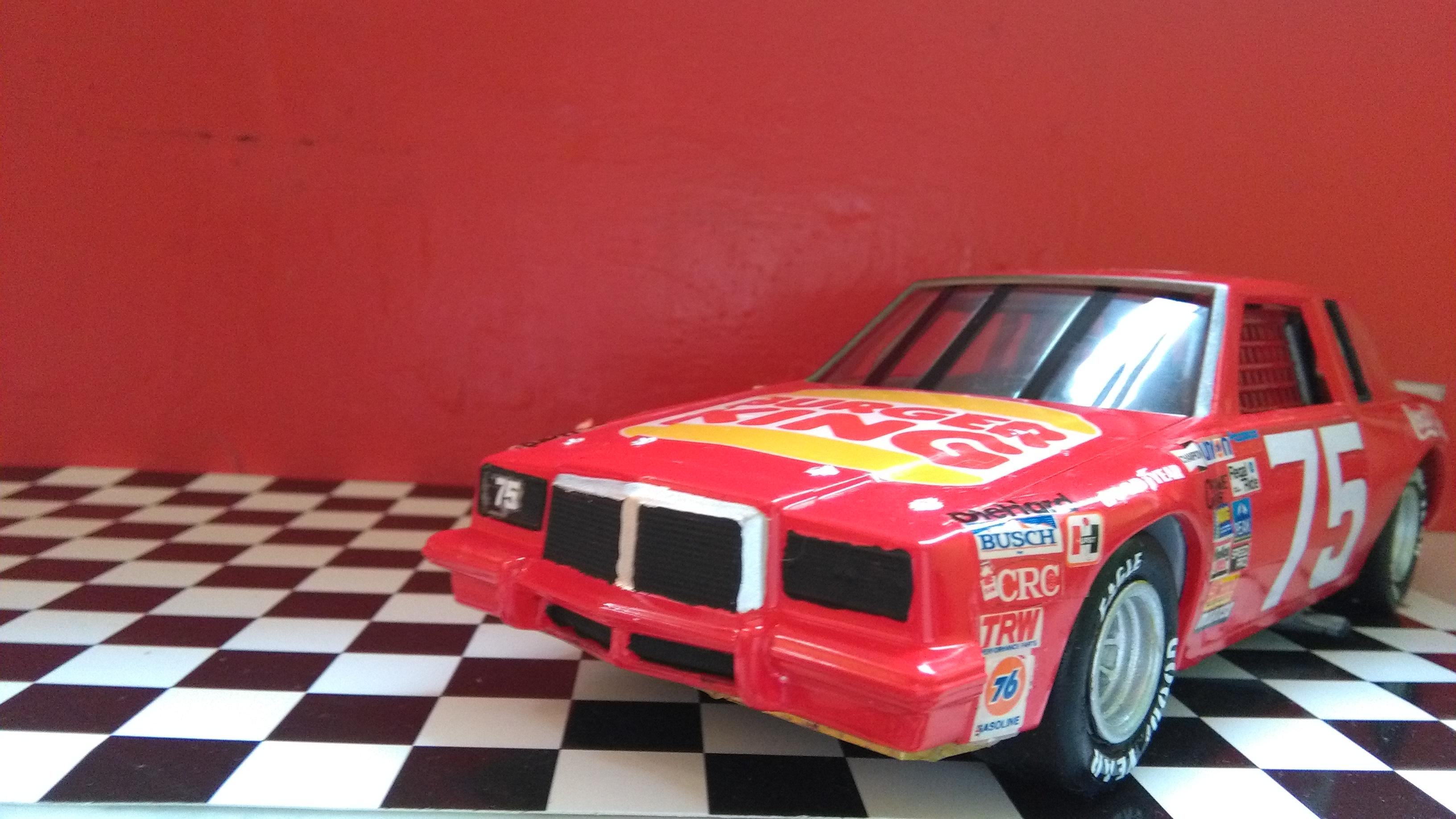 Pontiac Grand-Prix 1985 #75 Dave Marcis Coca-Cola (AMT 1/25) 853289IMG20170506154111