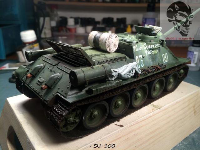 SU-100 marque Dragon 1/35 - Page 2 854574IMG3903