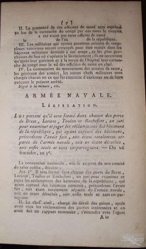 Les corsaires français de 1789 à 1815 857786sehrip1949
