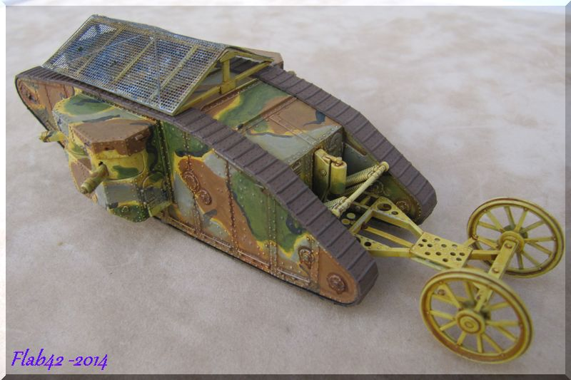 "MK I ""Female"" British tank - Bataille de la Somme 1916 - Master Box LTD - 1/72ème 858443fini5"