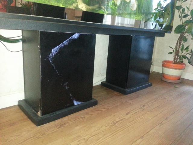 Construction d'un meuble en Chevrons de 8x8 pour bac 200cm 859821IMG20131209152410