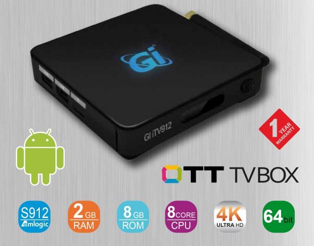 الجهاز الجديد ITV912 بنظام 6.0 ANDROID 860038GiiTV912