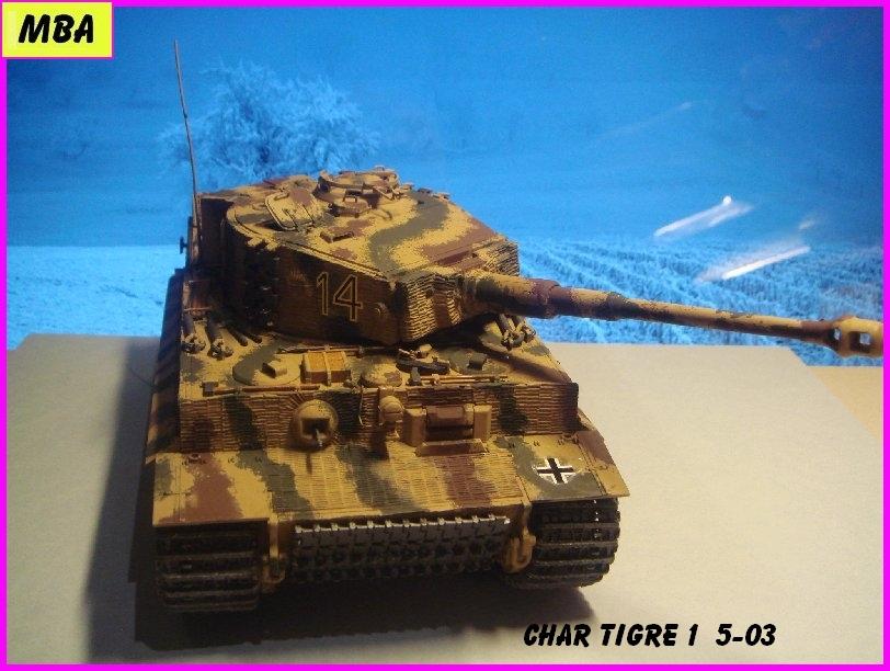 TIGRE 1 (Panzerkampfwagen VI Tiger Ausführung E - Sonderkraftfahrzeug 181) 860690Tigre503