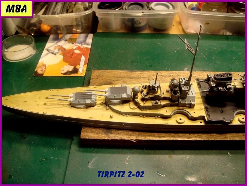 Le TIRPITZ au 1/700ème - DRAGON 863134Tirpitz202