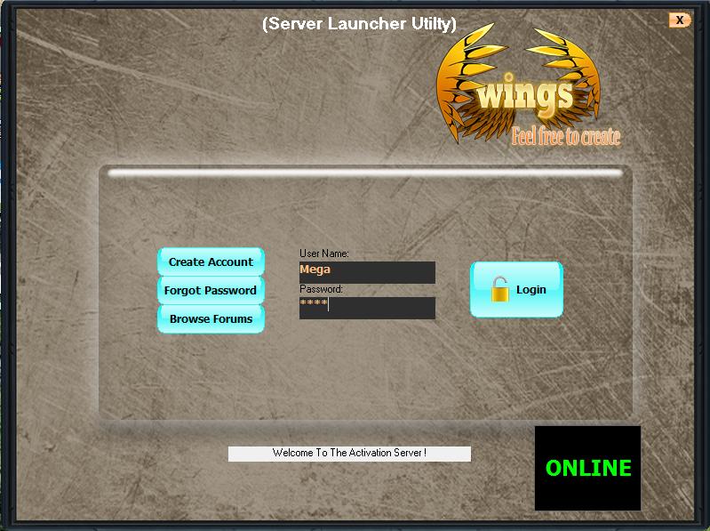 Wings mmorpg maker 2d !! 864014ServerLauncher