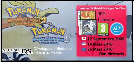 Pokémon Or Heart Gold / Argent Soul Silver   NDS 864469sshg