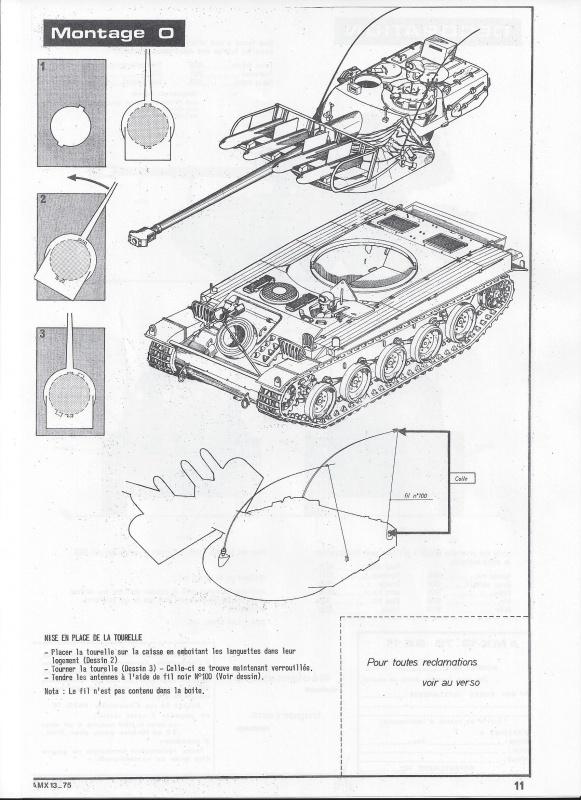 AMX 13 canon de 75 - (Réf. L784) 1/35 865263AMX1375784012Heller135
