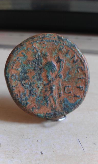 sesterce de Trajan premiere édition 106 865973IMAG0958