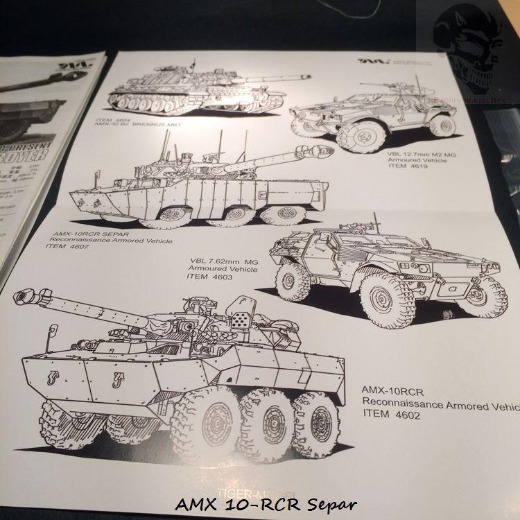 AMX 10 RCR SEPAR maquette Tiger Model 1/35 866758IMG3747