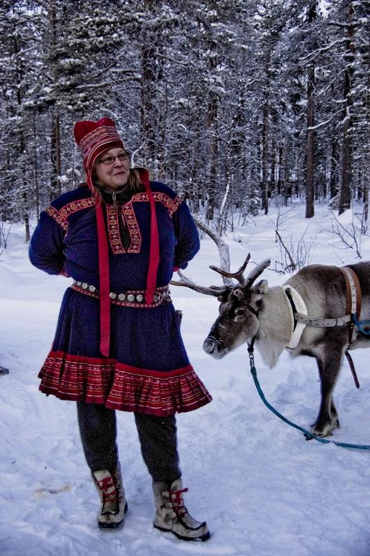 Laponie finlandaise: à la recherche du père Noël 866883300bi