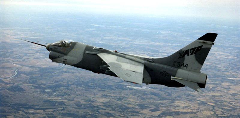 BOEING F/A-18E et F SUPER HORNET  869125VoughtYA7FStrikefigther