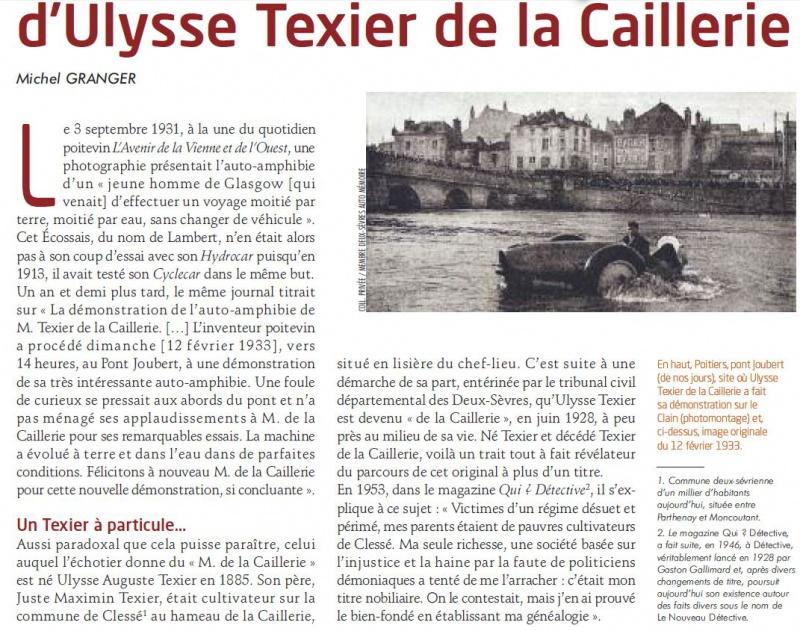 Ulysse Texier de la Caillerie et ses amphibies 869225Capture
