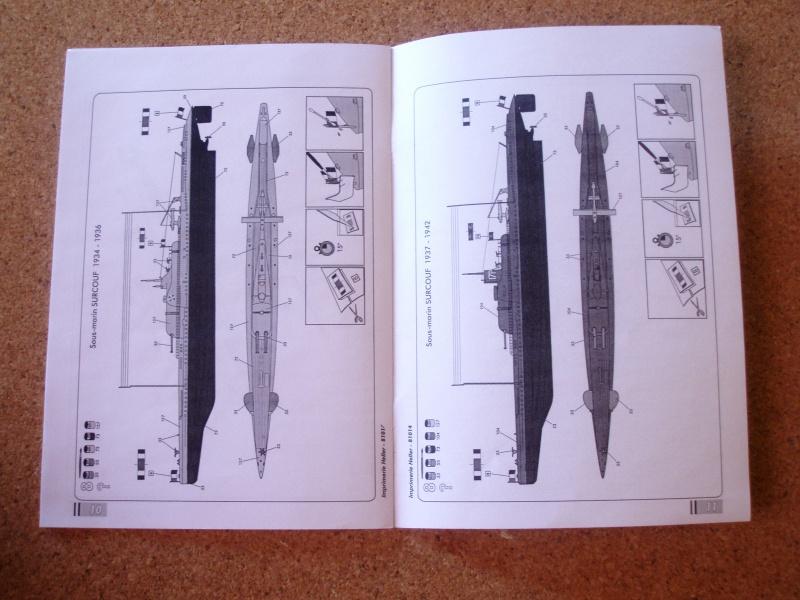 "Sous-marin Surcouf Ech 1/400 version ""upgrade"" 871353Photo057"