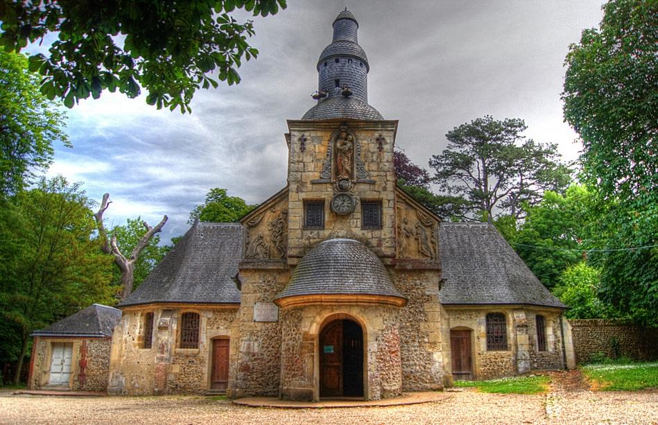 Énigme n°39 - Chapelle Notre-Dame de Grâce à Honfleur 87415942x