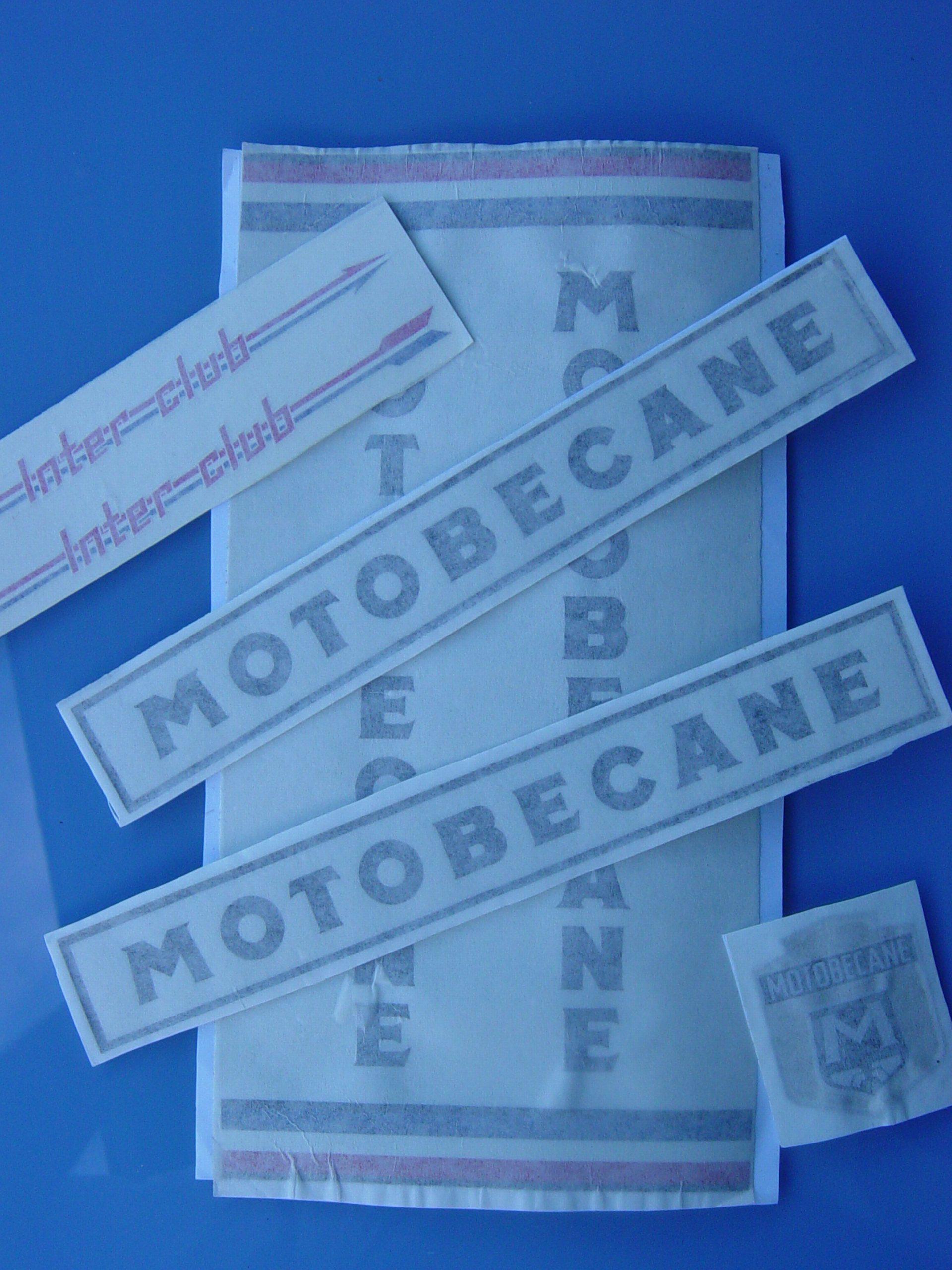 Vélo de course Motobécane 1970 876075dcalques
