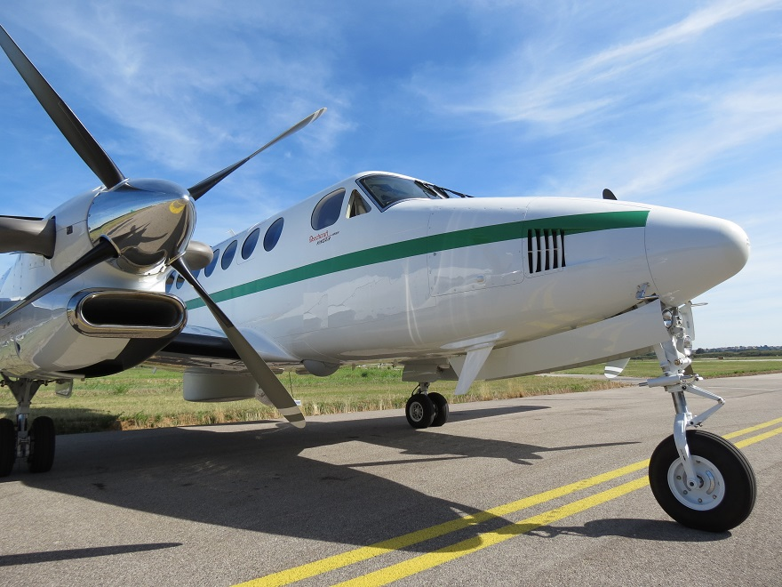 King Air 350ER surveillance aircraft 87640568yy