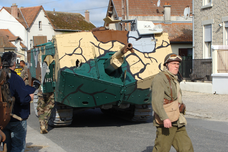 Berry-au-Bac, commémoration officielle du centenaire du premier combat de blindés français 876555DSC06795