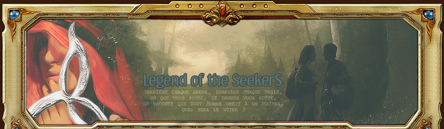 Legend of the Seeker RPG