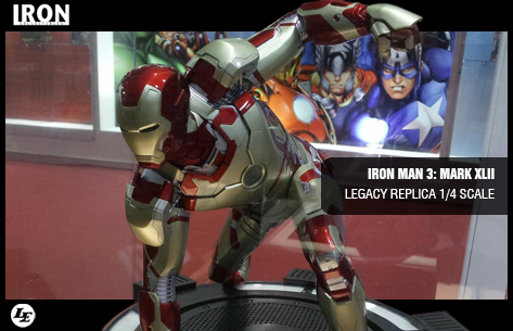 [Iron Studios] Iron Man 3: Mark XLII Legacy Replica 1/4 scale 880261ironxlii