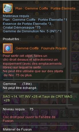 Gemme Coiffe  880587GemmeCoiffeFourrureRoyal