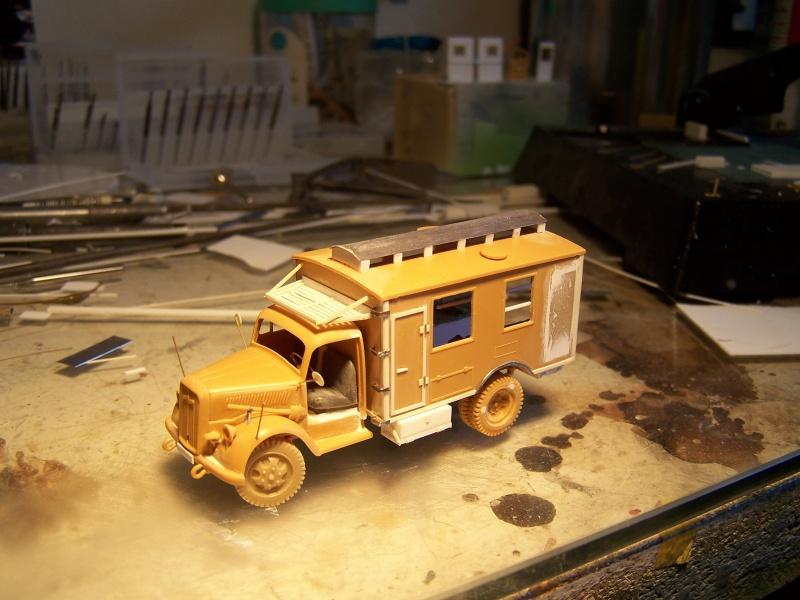 Opel Blitz Ambulance Normandie été 1944 8806191005862