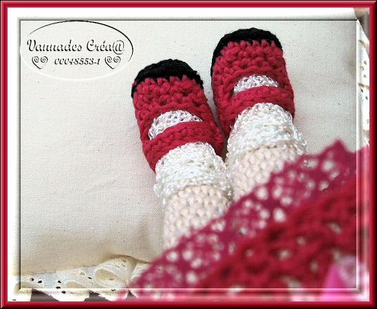 Bleuette au Crochet ♥♥♥ 881059chaussures